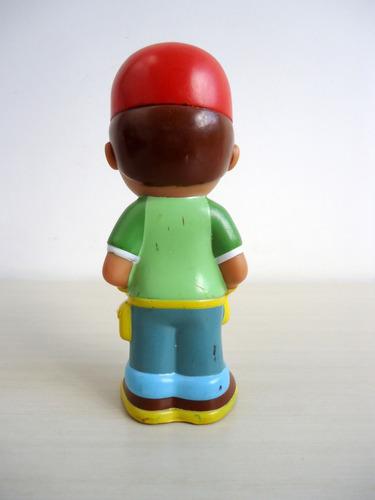boneco  handy manny  disney 12 cm altura !!!