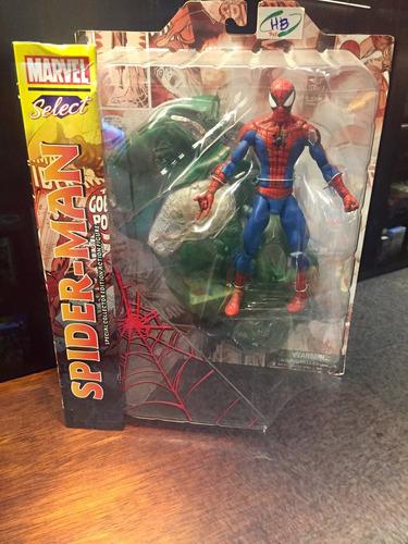 boneco homem aranha- marvel select.