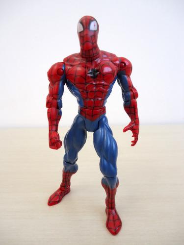 boneco homen aranha13 cm marvel 1998 toy biz,inc.