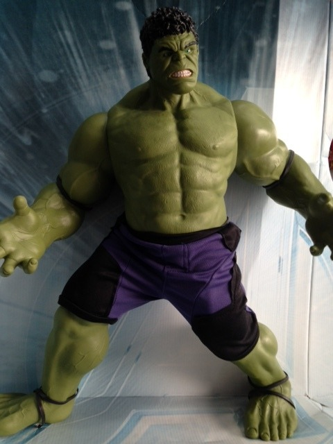 Boneco Hulk Avengers Com Olhos Reais!!! Mimo - R  185 ed4d10cb8ec