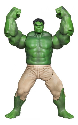boneco hulk avengers de acao com movimento - hasbro 36674