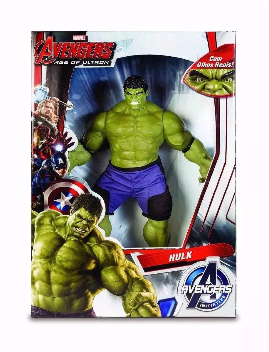 boneco hulk olhos reais +capitão america gigante 55cm mimo. Carregando zoom. 7497a0c43cb