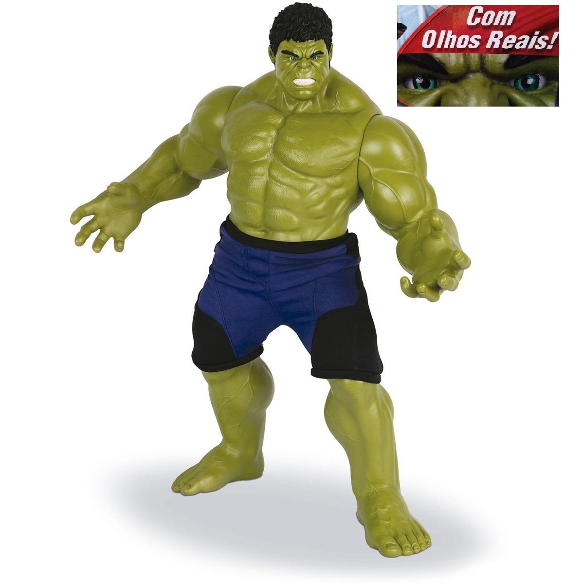 boneco hulk verde com olhos reais gigante mimo - marvel. Carregando zoom. 1f6383286fd