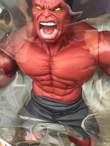 Boneco Hulk Vermelho Revolution Avengers Gigante Mimo 0517 - R  219 ... 3f9eeaa7de8