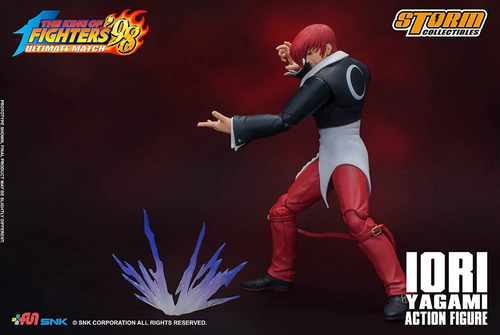 boneco iori yagami king of fighters storm collectibles 1/12