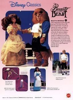 boneco ken disney the beast -beauty and the beast -no br!