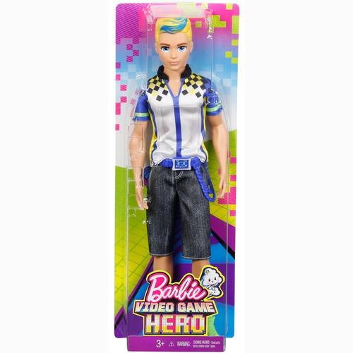 boneco ken filme barbie em um mundo de video game mattel