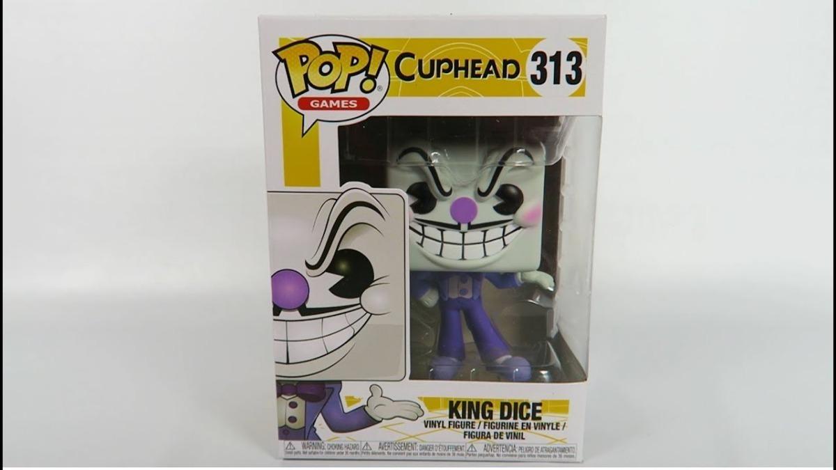 Funko Pop-Cuphead-King Dice