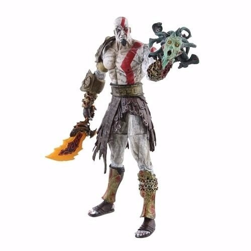 boneco kratos deus da guerra god of war 18cm