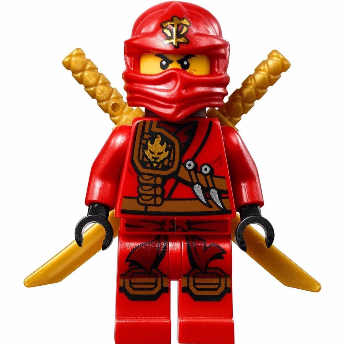 Boneco lego ninjago kai vermelho compativel r 12 00 - Ninjago lego kai ...