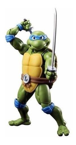 Boneco Leonardo Tartarugas Ninja Nickelodeon Bandai R 344 90 Em