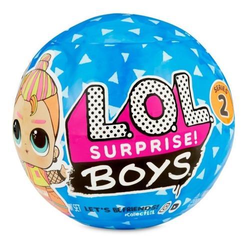 boneco lol surprise boy série 2 candide