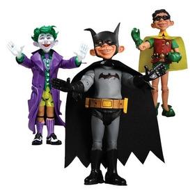 Boneco Mad Batman Robin Alfred E. Neuman Liga Justiça Dc