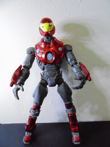 boneco marvel legends -homem de ferro - iron man ultimate