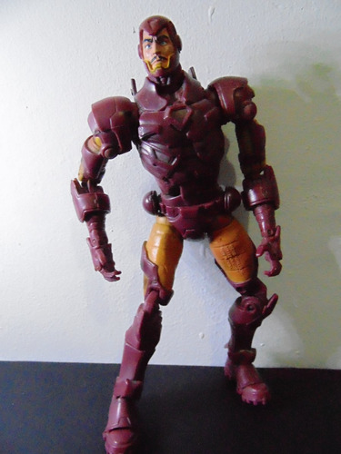 boneco marvel legends homem de ferro série 8