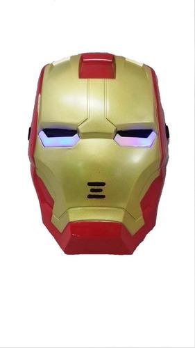 5980525da62 boneco máscara homem de ferro articulado vingadores relógio. Carregando zoom .