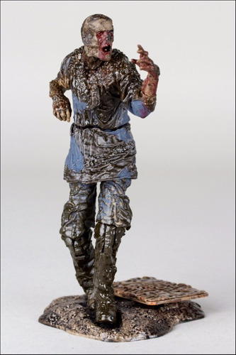 boneco mcfarlane walking dead mud walker seriado tv figura