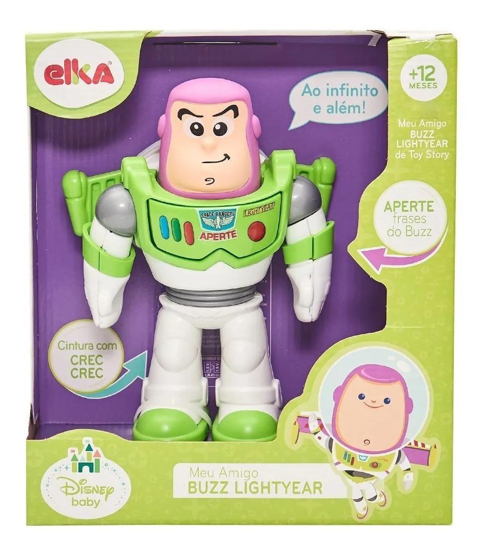 Boneco Meu Amigo Buzz Lightyear Fala Frases Elka 1042