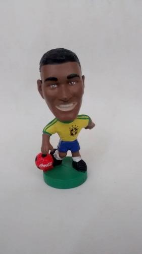 boneco mini craque coca cola 1998 soccerstars