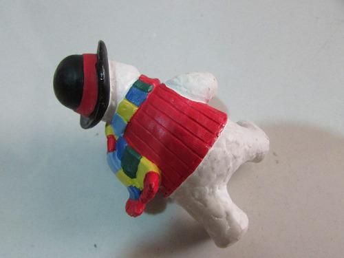 boneco miniatura do gelo resina