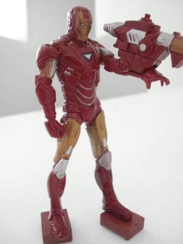 boneco miniatura  homem de ferro iron man frete gratis