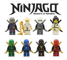 Lloyd Jay & Kai Nya LEGO® Ninjago: Lots of 7 Djinn Swords Wu Cole Zane