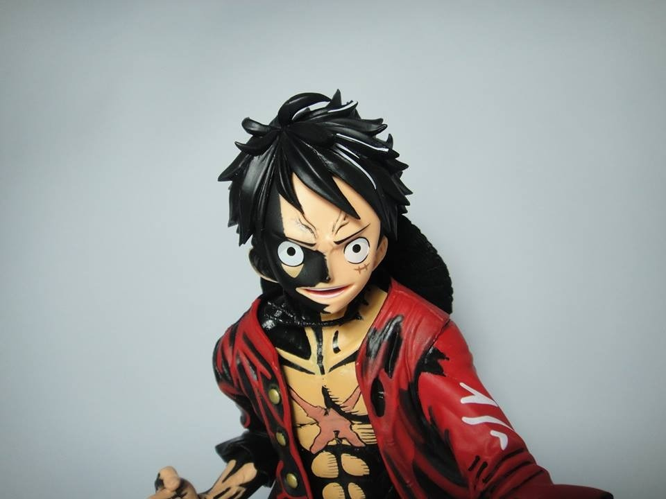 Boneco One Piece King Of Artist The Monkey D Luffy