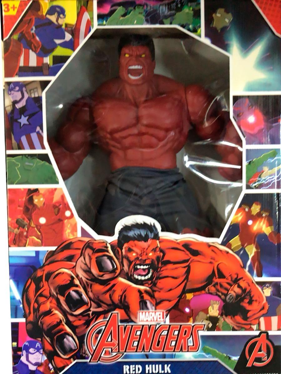 boneco original mimo hulk vermelho revolution original 45 cm. Carregando  zoom. 0d1b2edc26d