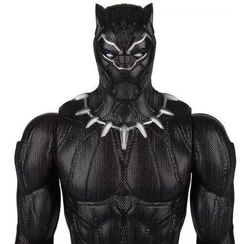 boneco pantera negra titan hero series hasbro