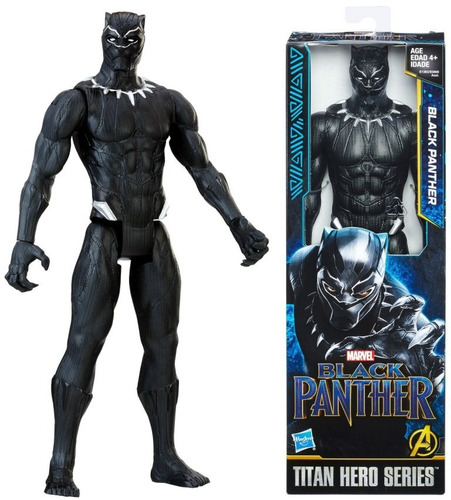 boneco pantera negra titan hero series hasbro e1363 e0869