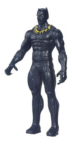 boneco pantera negra vingadores marvel 15cm - hasbro - raro