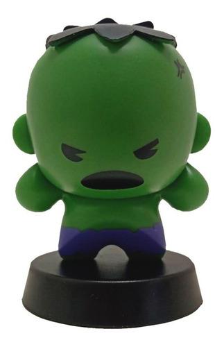 boneco para carro hulk - marvel miniso