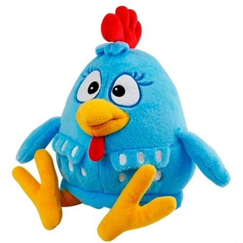 boneco pelúcia galinha pintadinha musical + brinde