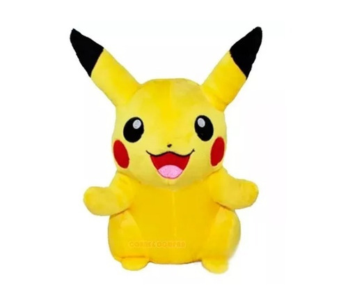 boneco pelúcia pikachu pokémon go nintendo brinquedo