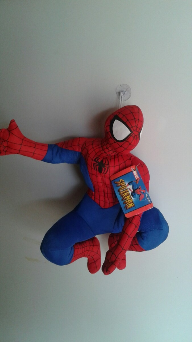 boneco pelúcia spirder man homem aranha r 29 99 em mercado livre