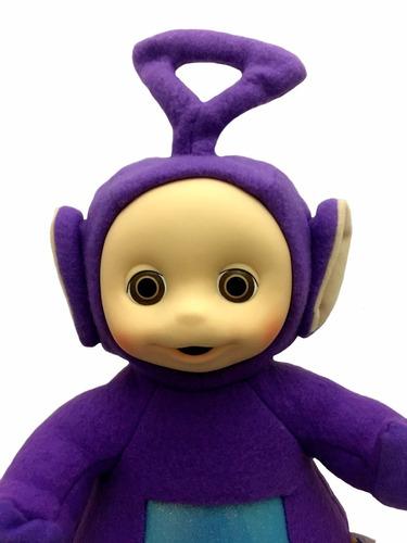 boneco pequeno tinky winky roxo da turma dos teletubbies