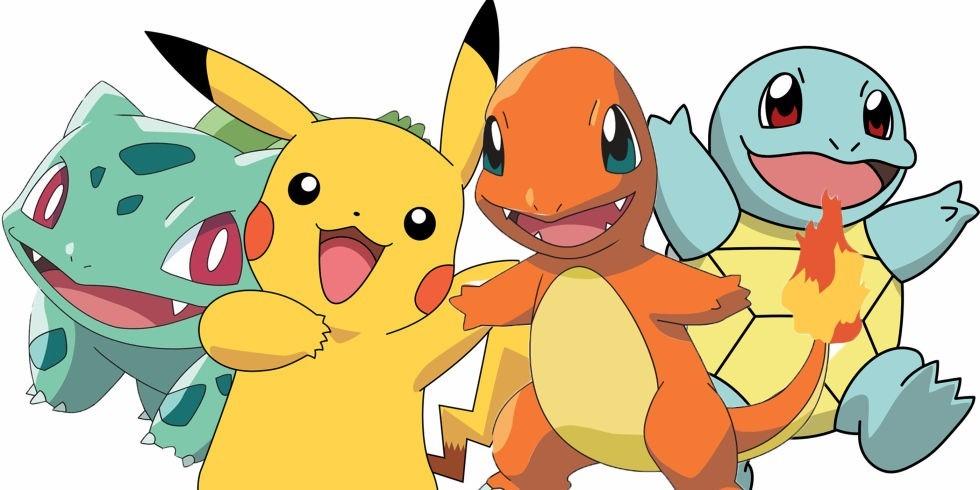 Boneco Pokemon Pikachu Charmander Bulbasaur Squirtle - R ...