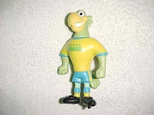 boneco promocional : papagaio da seleção brasileira
