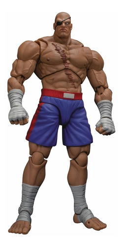 boneco sagat street fighter storm collectibles 1/12 ryu ken