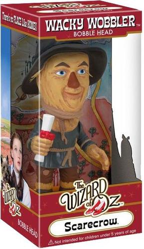 boneco scarecrow espantalho o magico de oz bobble head funko