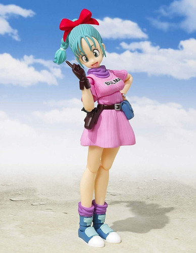 boneco sh figuarts bulma + king piccolo daimaoh dragon ball
