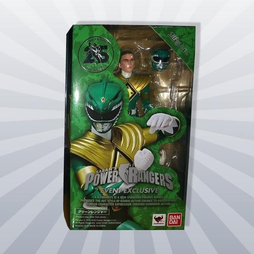 boneco sh figuarts green power ranger verde sdcc tommy