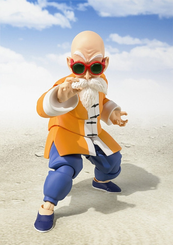 boneco sh figuarts mestre kame master roshi dragon lacrado