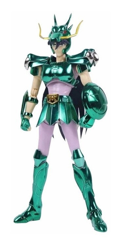 boneco shiryu dragão bronze v1 ex myth great toys seiya