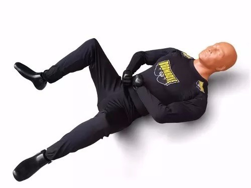 boneco simulador de treino torre de pancada bob mma