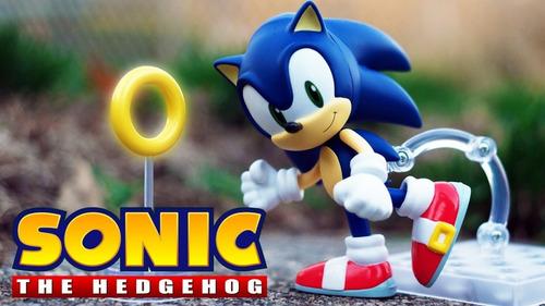 boneco sonic the hedgehog nendoroid team chaotix br
