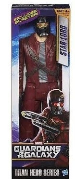 boneco star lord guardiões da galaxia marvel