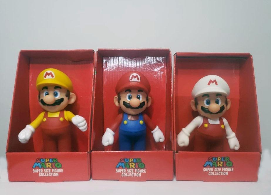 Boneco Super Mario Branco - Original 23cm - Coleção - R  50 f8f3c56b9e6