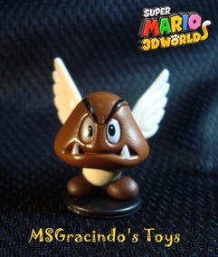 Boneco Super Mario Bros  - Goomba Com Asas - Nintendo 2007