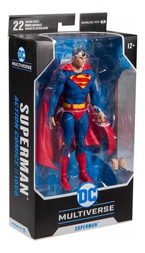 boneco superman mcfarlane toys dc multiverse lacrado